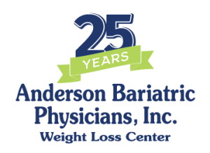 Anderson Bariatric Physicians - 25 Year Anniversary Logo